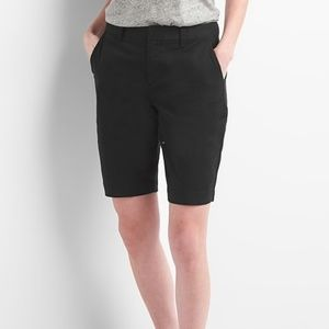 "Gap 10"" Bermuda Shorts - True Black - 16 - NWT"